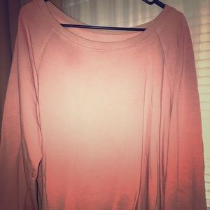 Oversize gap light pink sweater